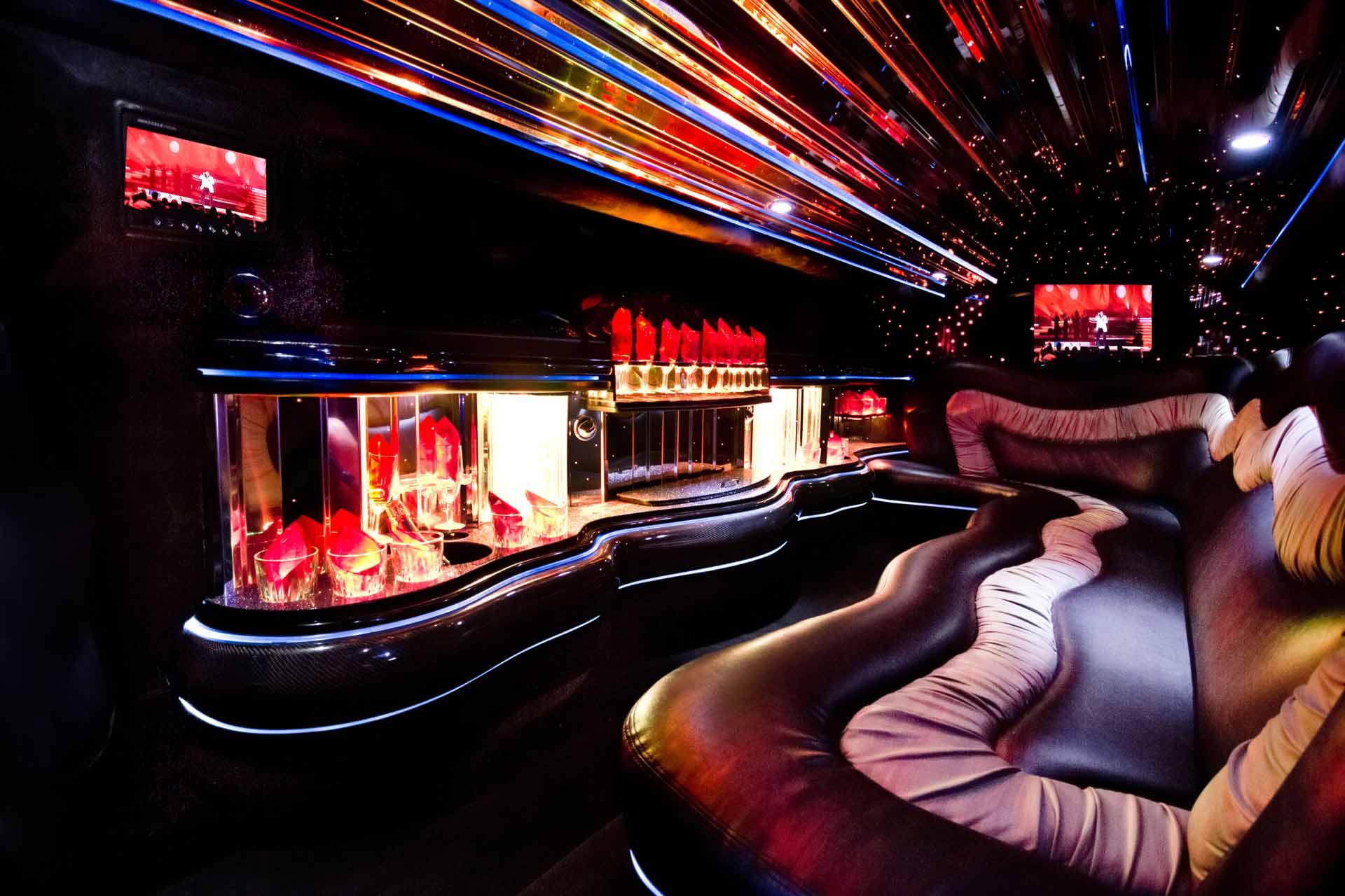 Chrysler limousine interieur