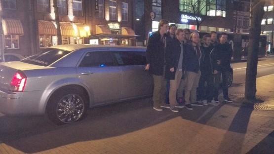 Chrysler limousine in Groningen